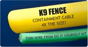 k 9 wire comparison